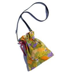 Bolso Kinchaku-Bukuro Abanicos