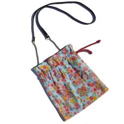 Kinchaku-Bukuro Flowers Bag