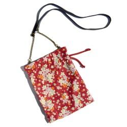 Kinchaku-Bukuro Plum Bag