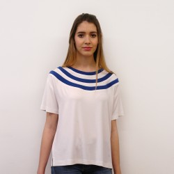 T-shirt Triple collar Básica