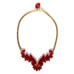 Red Necklace Juan Diaz...
