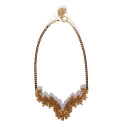 Golden Necklace Juan Díaz...
