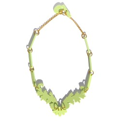Light Green Necklace Juan...