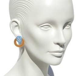 "Lorena Rom ""Olmo"" earrings"