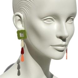 """Lorena Rom """"Petalos"""" earrings"""