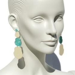 "Lorena Rom ""Marea"" earrings"