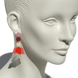 """Lorena Rom """"Tulipa"""" earrings"""