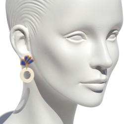 "Lorena Rom ""Sasafra"" earrings"