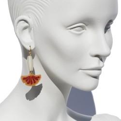 "Lorena Rom ""Biloba"" earrings"