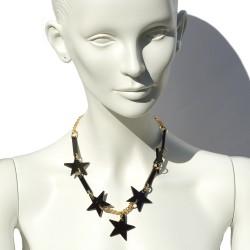 Black stars necklaces San Fabrizzio