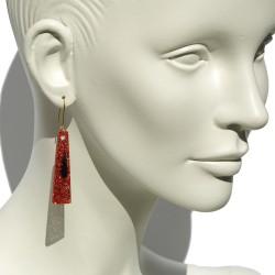 San Fabrizzio red glitter...