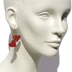 Love earrings San Fabrizzio