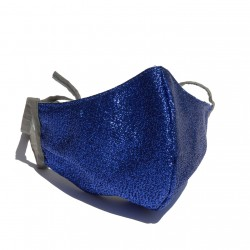 Bright Royal Blue Face mask