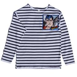 Camiseta  de rayas y Super...