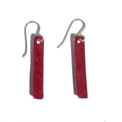 Pendientes Aluminio Rojo...