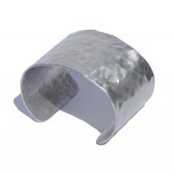 Pulsera aluminio martelé...