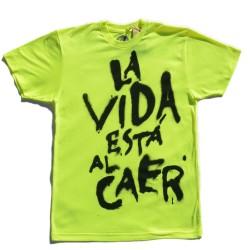 """T-shirt """"La vida está al..."""