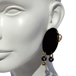 Earrings Oval 02 San Fabrizzio