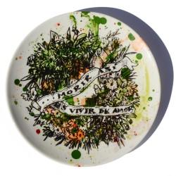 Funeral dessert plate