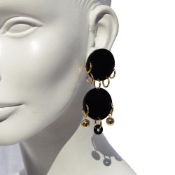 Earrings Dots 01 San Fabrizzio