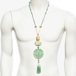 Collar Kokoro Jade Verde