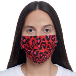 RED LEOPARD MASK 5-PACK