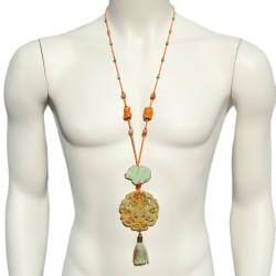 Kokoro Double Dragon Necklace