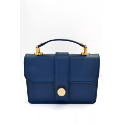 Prim by MIchelle Elie Classic Blue Leather Bag