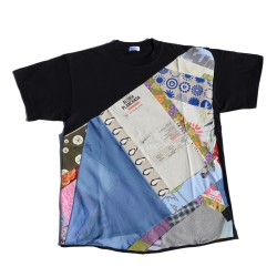 T-shirt Alubia made in patchwork