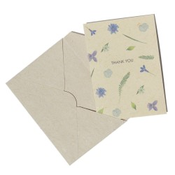 """""""Thank you"""" card made of Bee Saving Paper and envelope"""