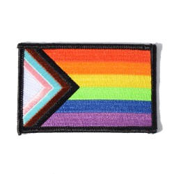 """""""Progress"""" Pride Embroidered Patch"""