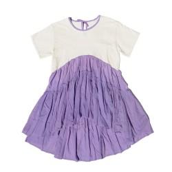 T-shirt - Minidress Lilac
