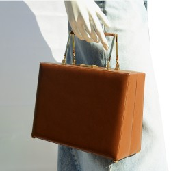 The Mies Leather Bag in...