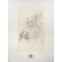 Drawing of Saint Joachim,...