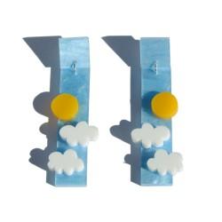 Sun and clouds plexiglass...