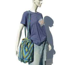 Handmade knit bag