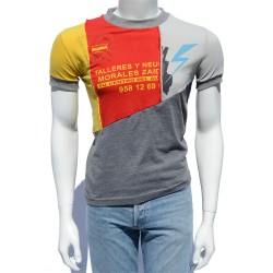 Camiseta patchwork talleres