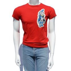 Camiseta roja aplicación...
