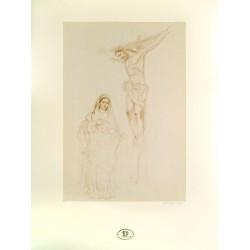 Boceto pintura Cristo de...