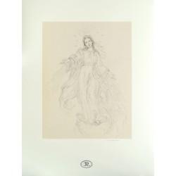 Dibujo Virgen Milagrosa