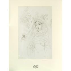 Dibujo Virgen Santísima de...